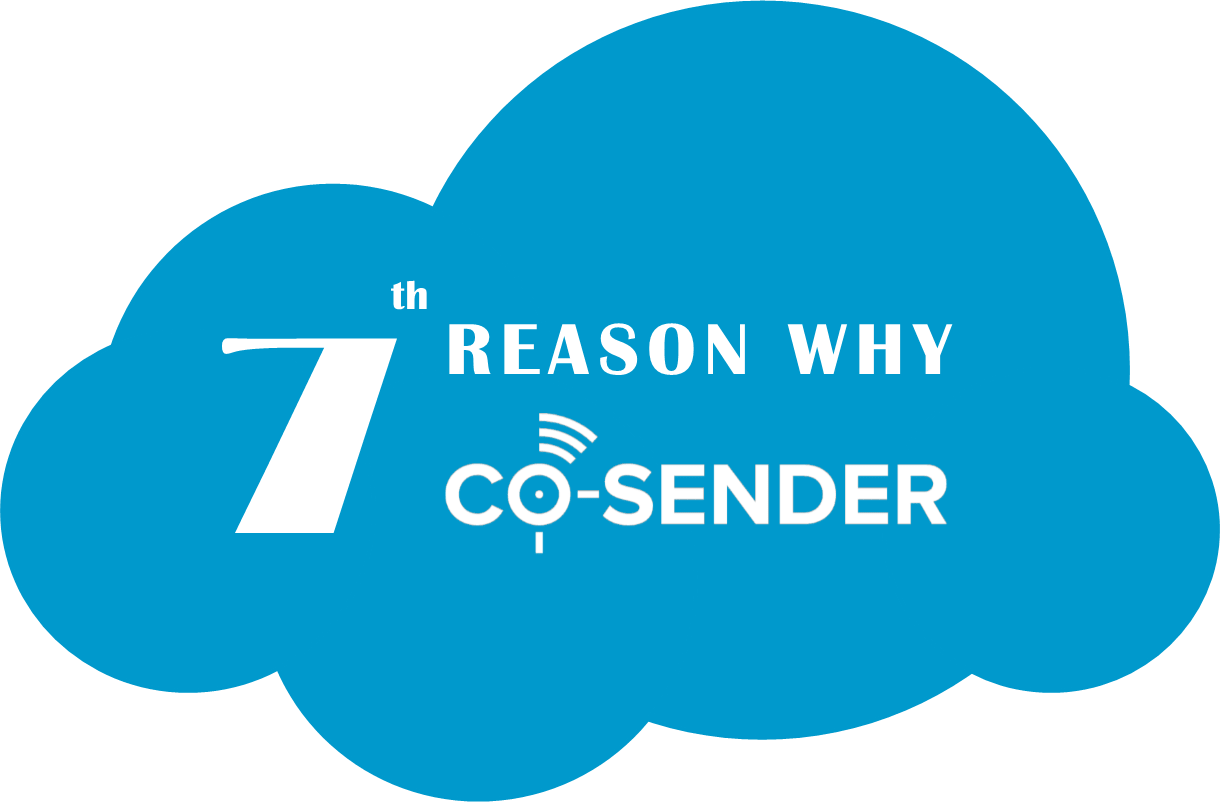 7 reason why CO-SENDER