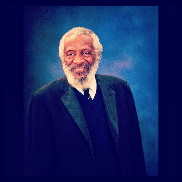 """Most people are scared of books. What I have to say to them is you can burn a book, it can't burn you."" - #DickGregory #BLKxLIGHT"
