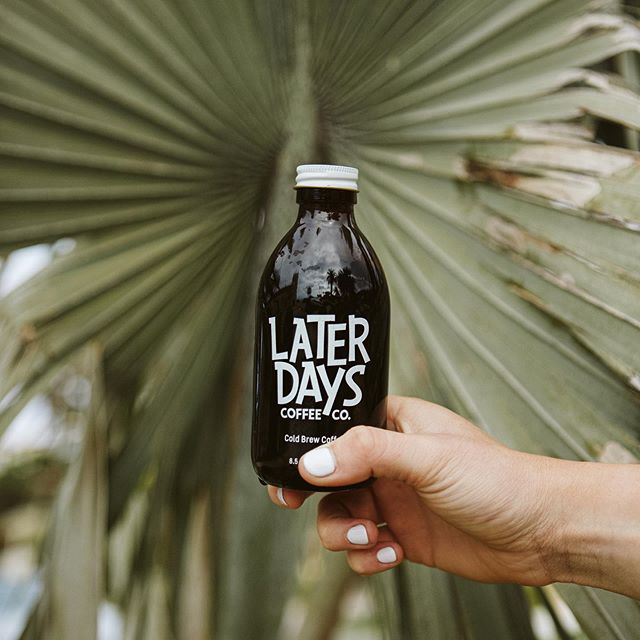 Monday Blues? Cheer up and get yourself going with some Later Days. #laterdayscoffeeco 📸: @nataliepond