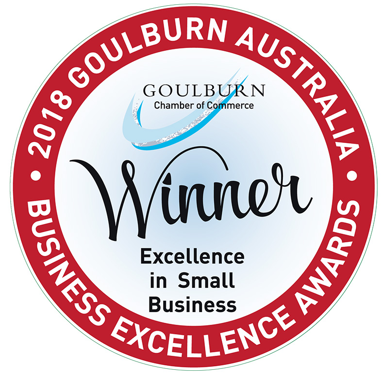 Winner Excellence in small business.jpg