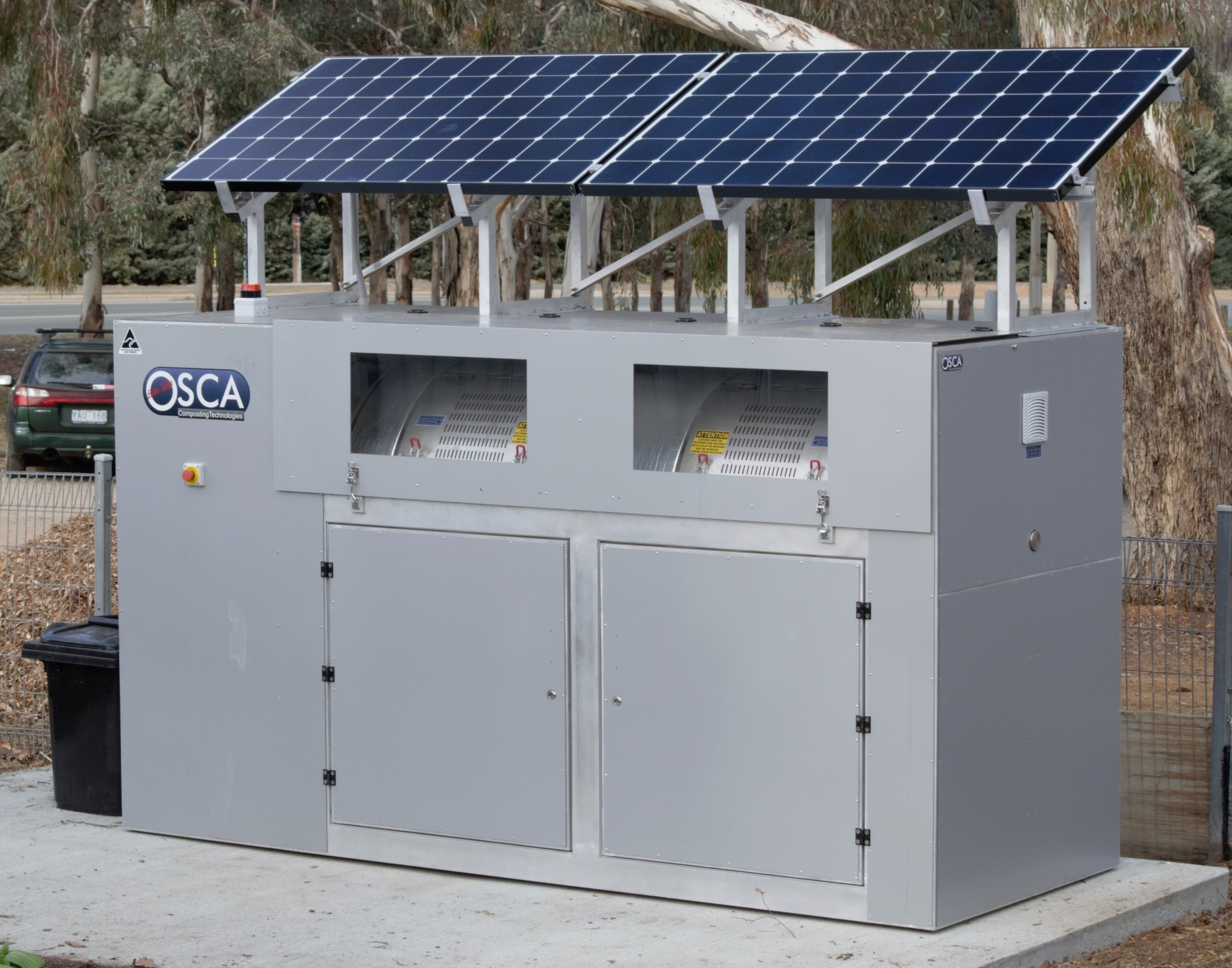 Our hungry OSCA (On Site Composting Apparatus)