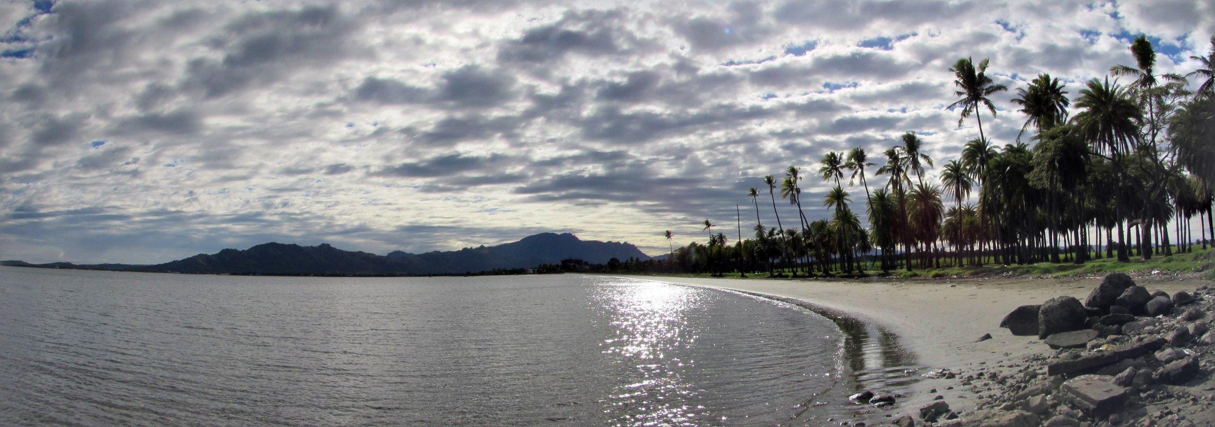 Panorama across Nadi Bay.