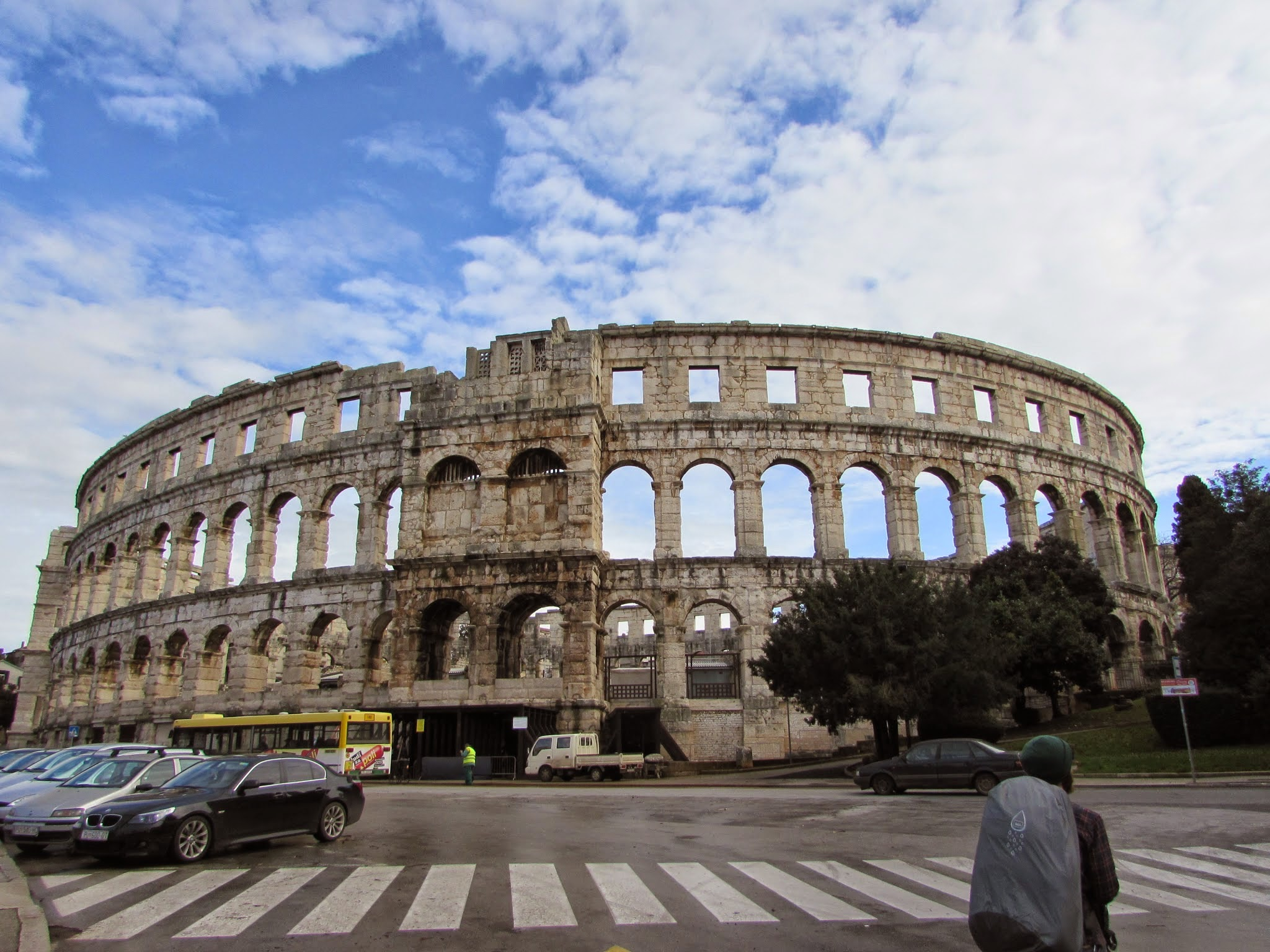 Maybe the most impressive thing in Istria: the Pula Arena.