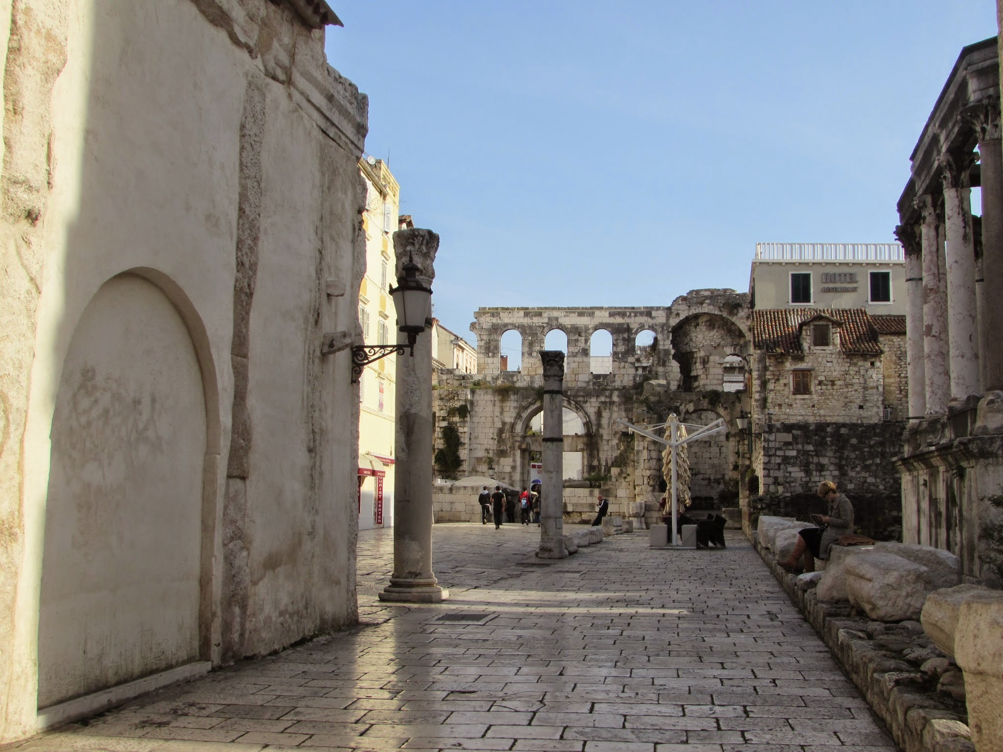 Like Dubrovnik, everything there was beautiful and ancient.