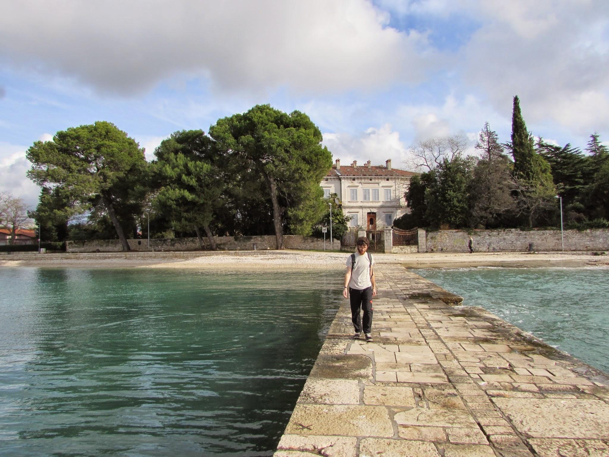 A very ancient dock - Fazana, Istria.