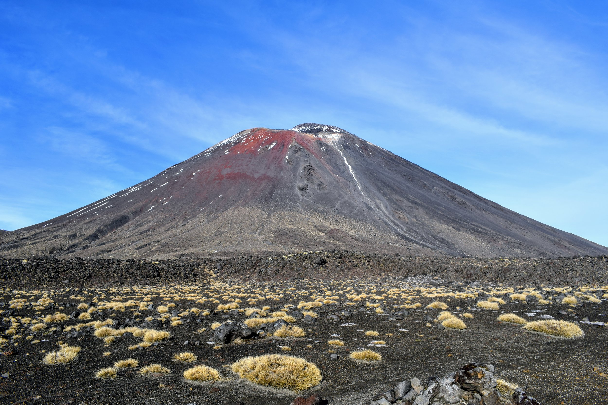 Ngauruhoe from across the South Crater.