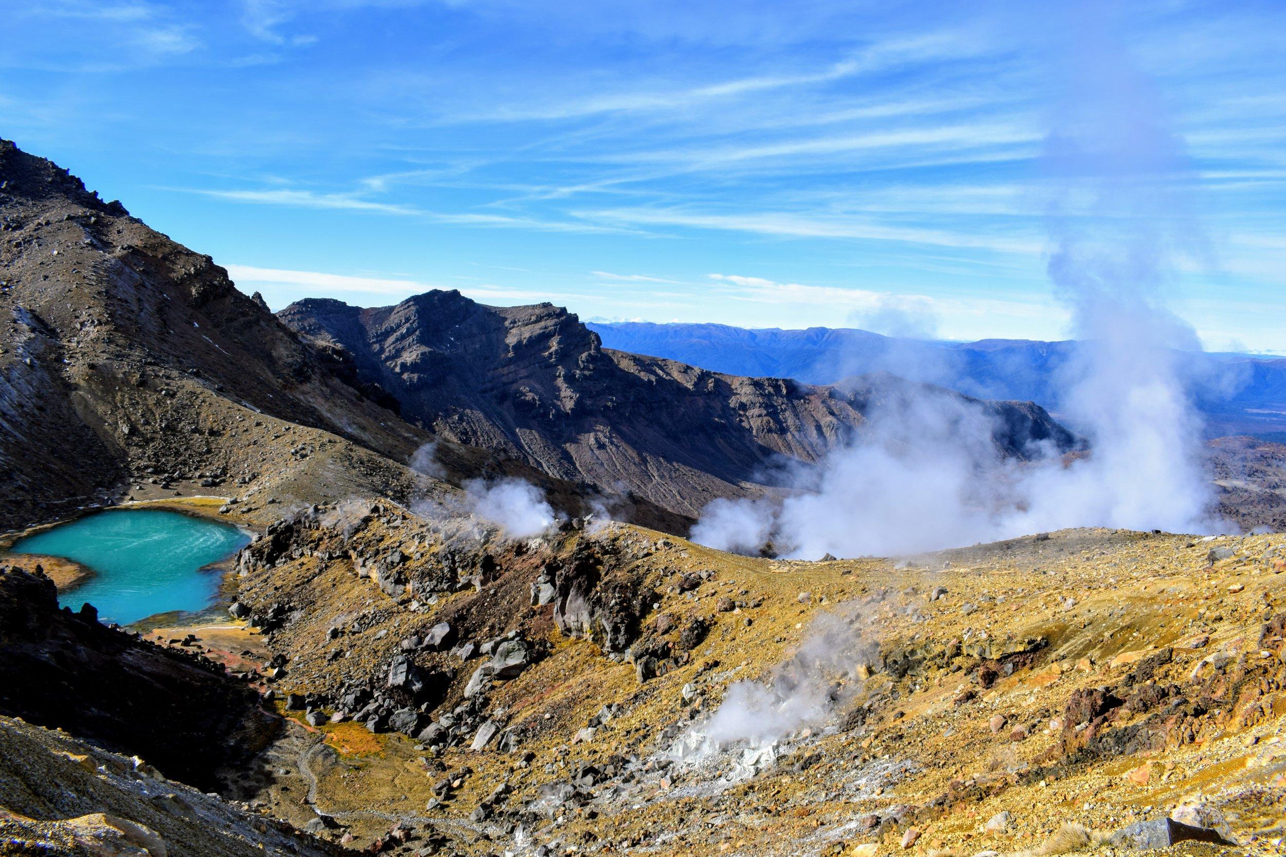 Ya gotta love that surreal volcanic terrain.