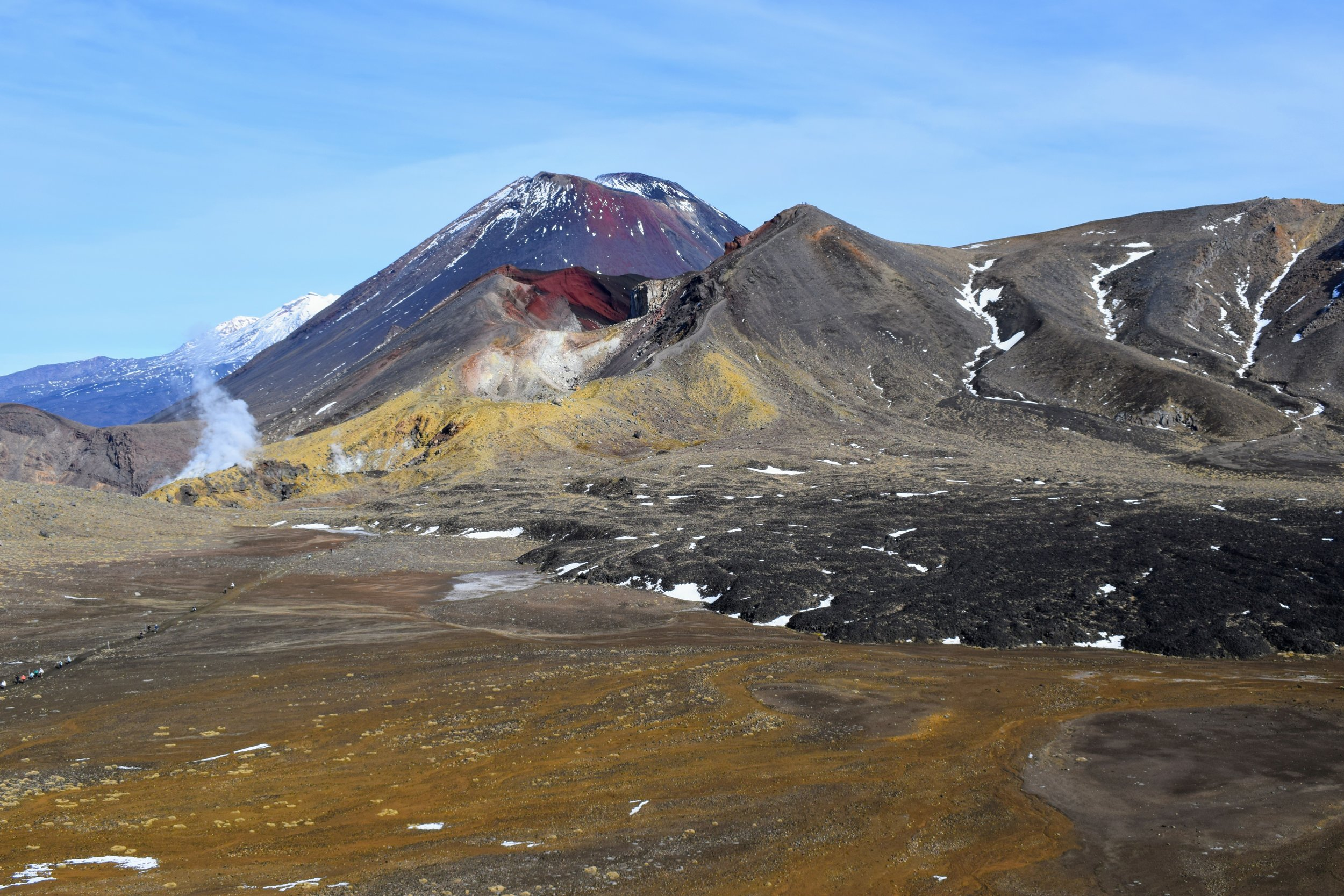 And one more photo zoomed out a little, so you can see that neat old lava flow on the right.