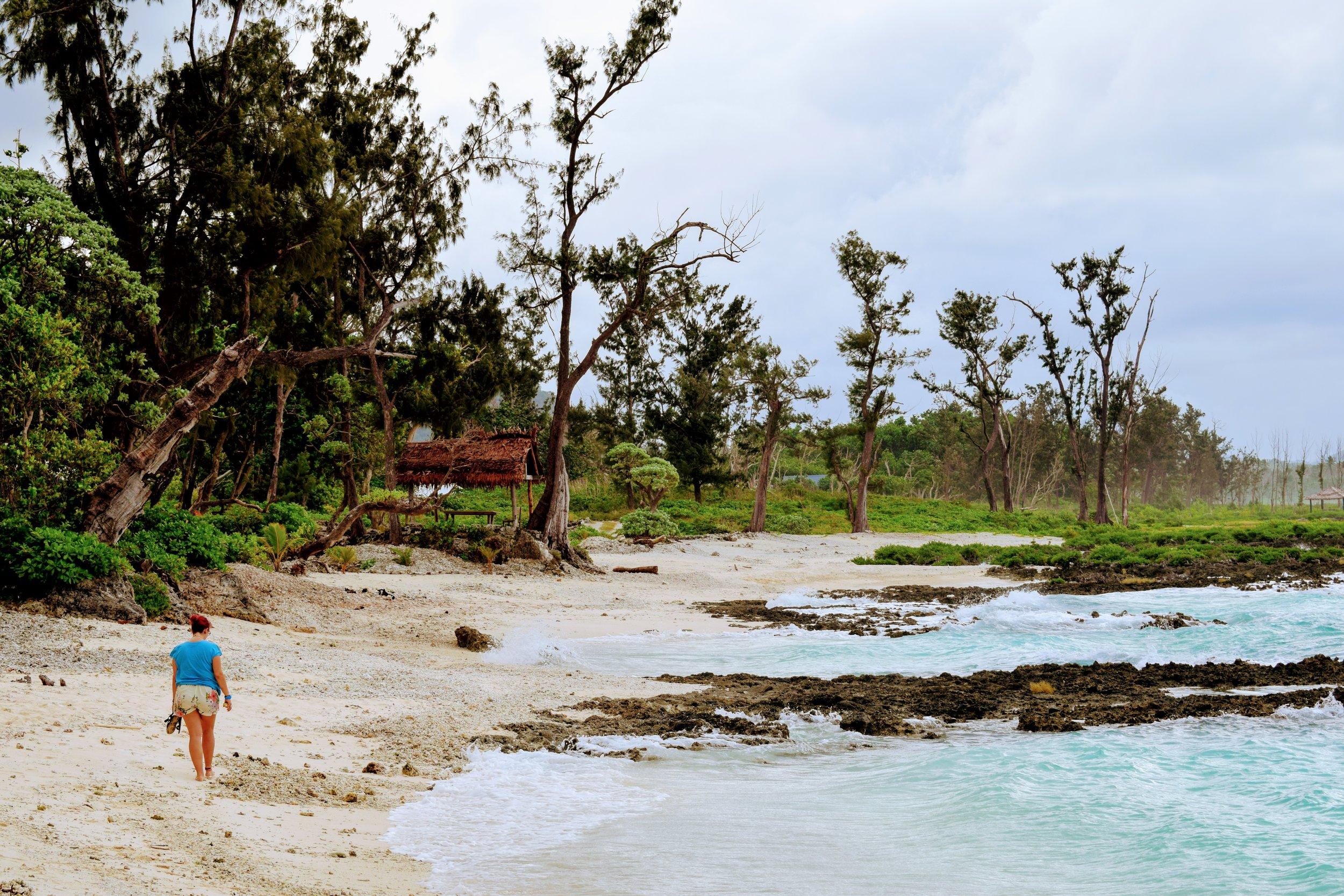 Me in my element in Vanuatu.