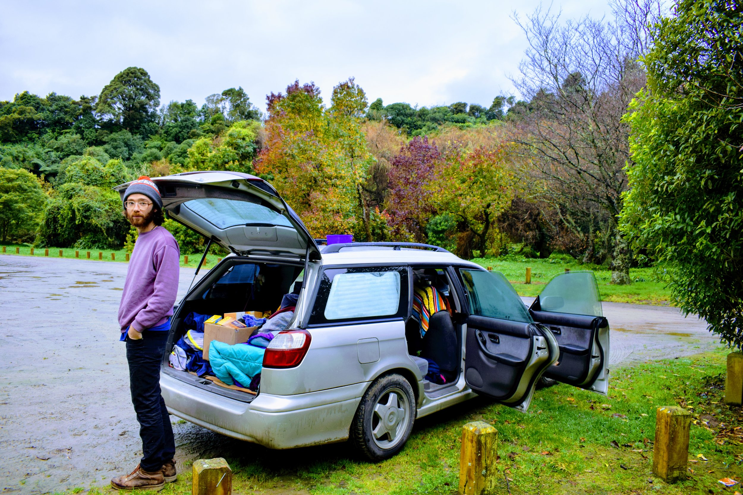 living in your car new zealand