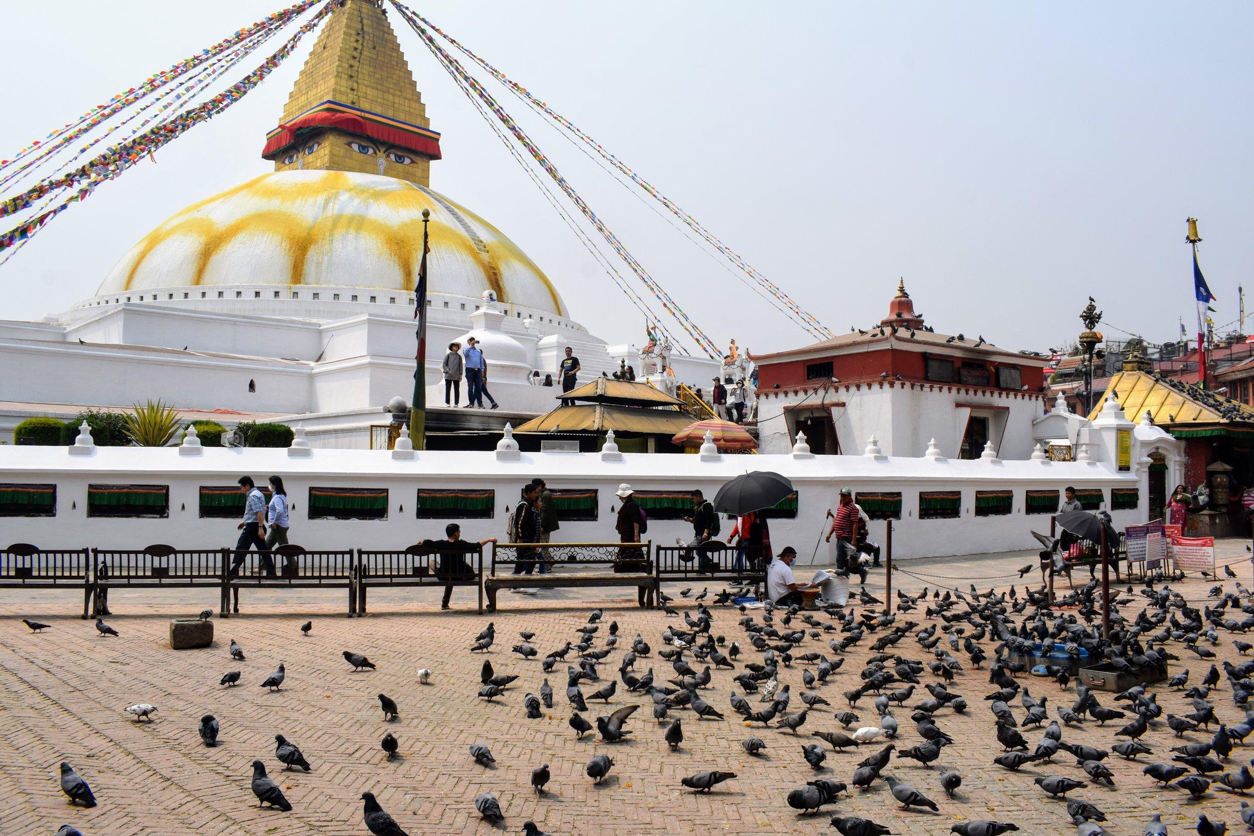 boudhanath kathmandu nepal 2