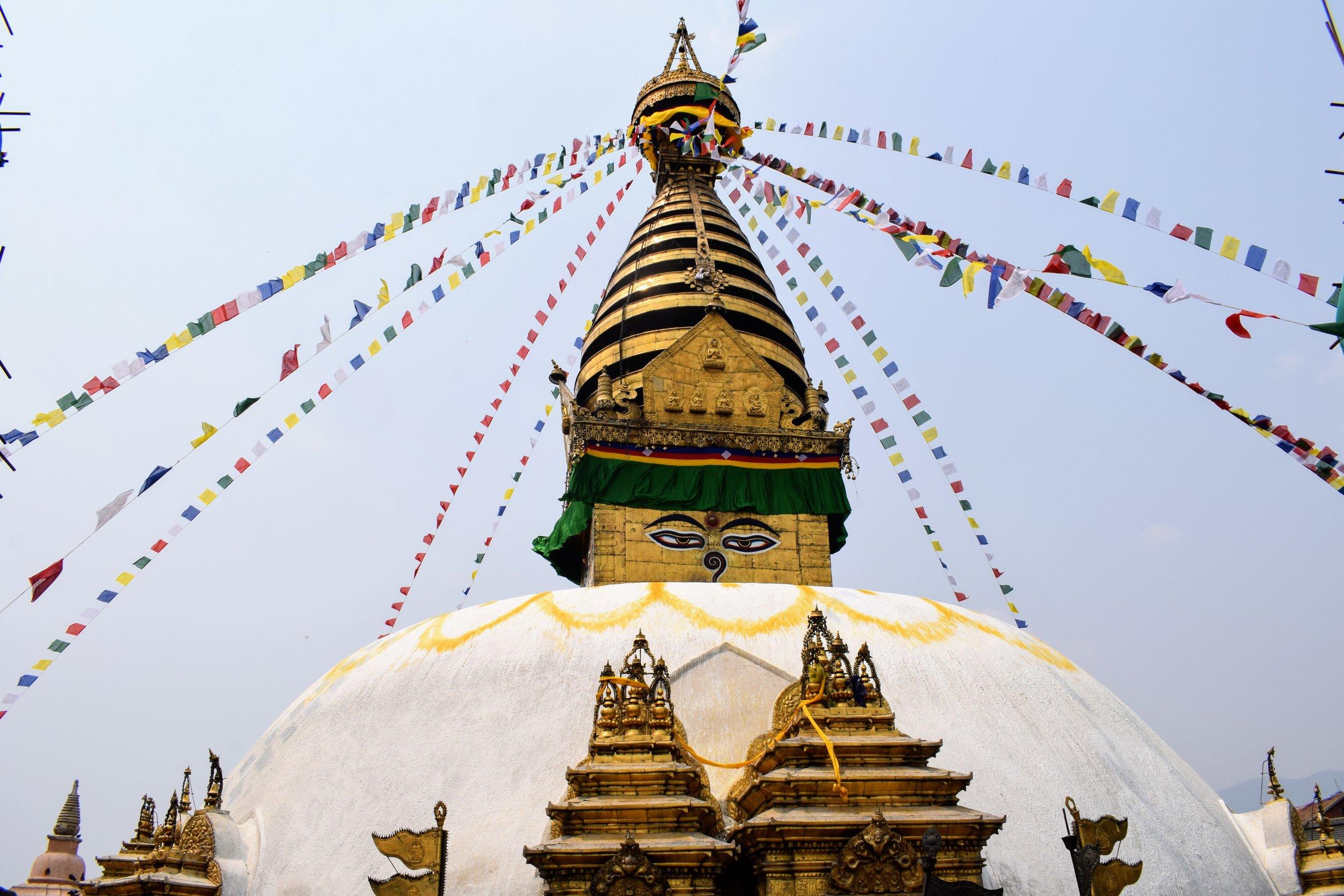 swayambunath monkey temple kathmandu