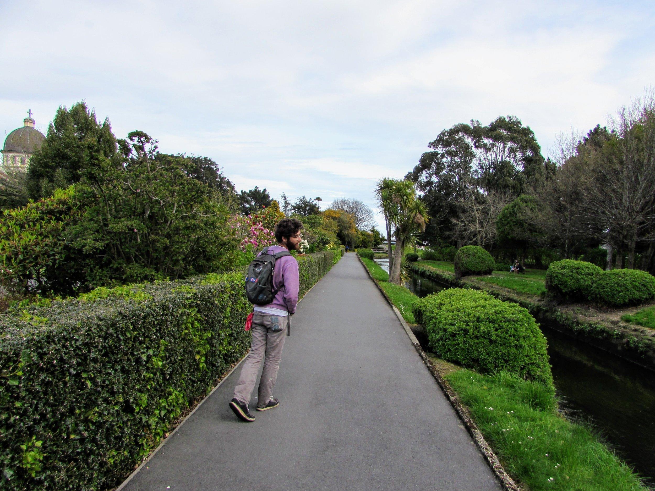 Otepuni Gardens in Invercargill NZ