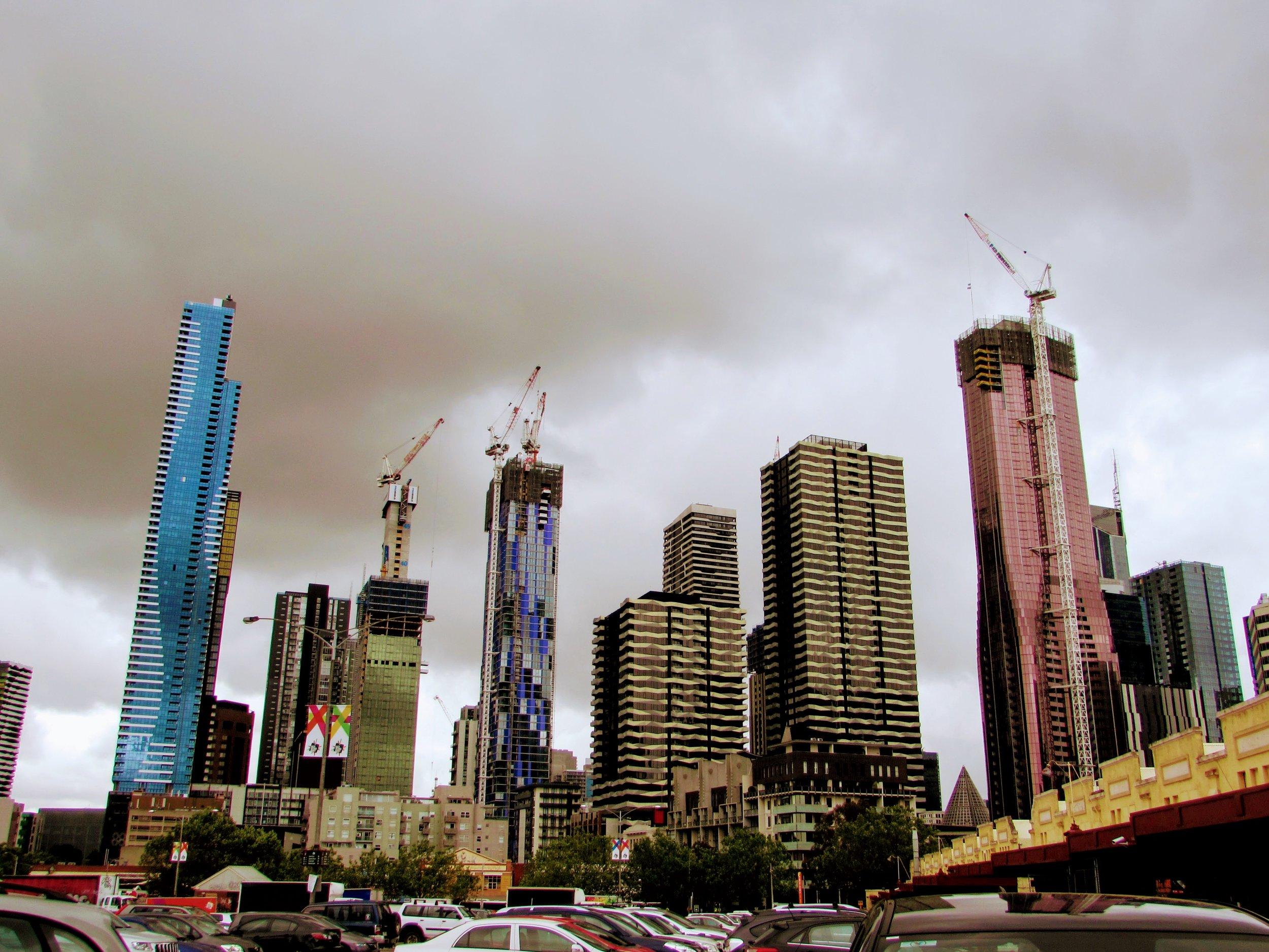 Melbourne CBD skyline