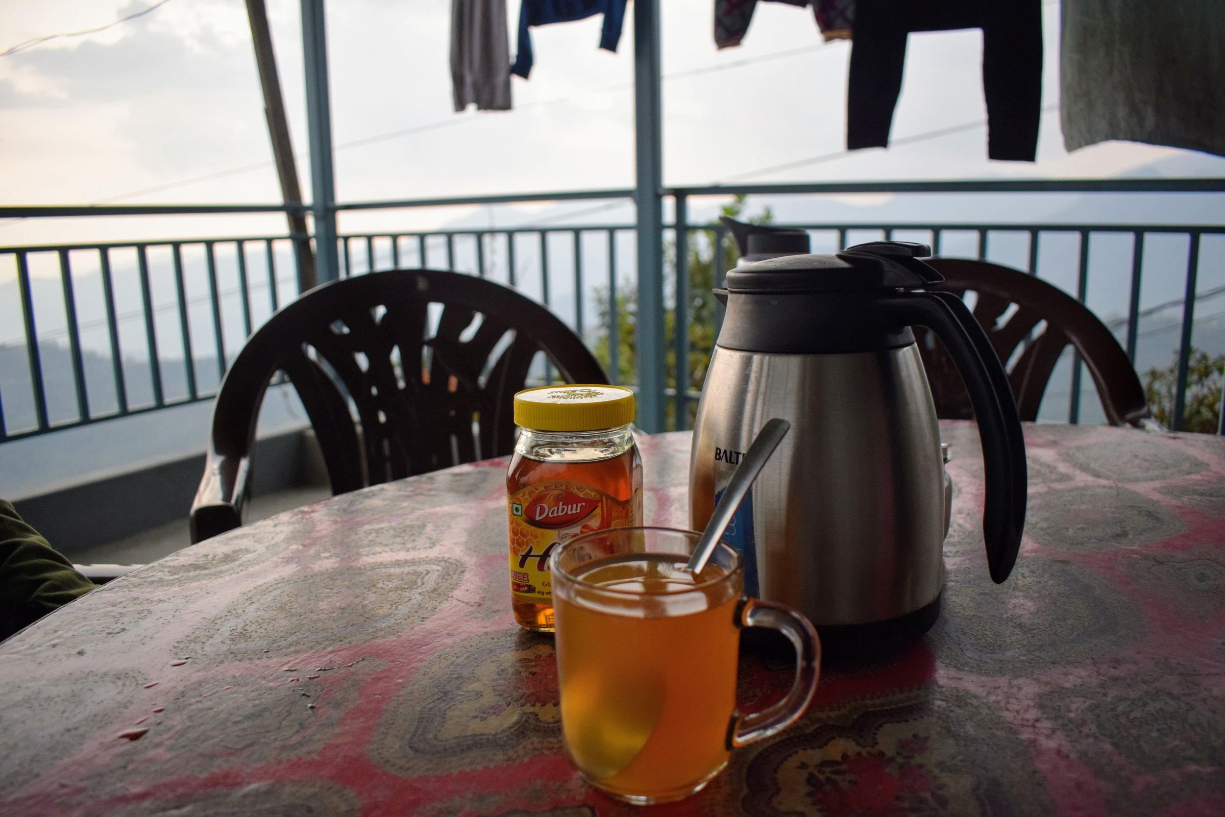 Tea with a view // Dhampus, Nepal