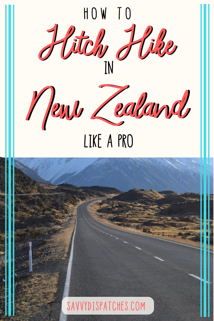 How to hitch hike in New Zealand - tips on how to see the whole country for free! #NewZealand #budgettravel | New Zealand Travel on a Budget