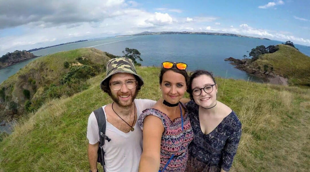 I didn't study abroad but I did get to visit with Emmett's sister and my BFF C.J. while she studied abroad at the University of Auckland, New Zealand.