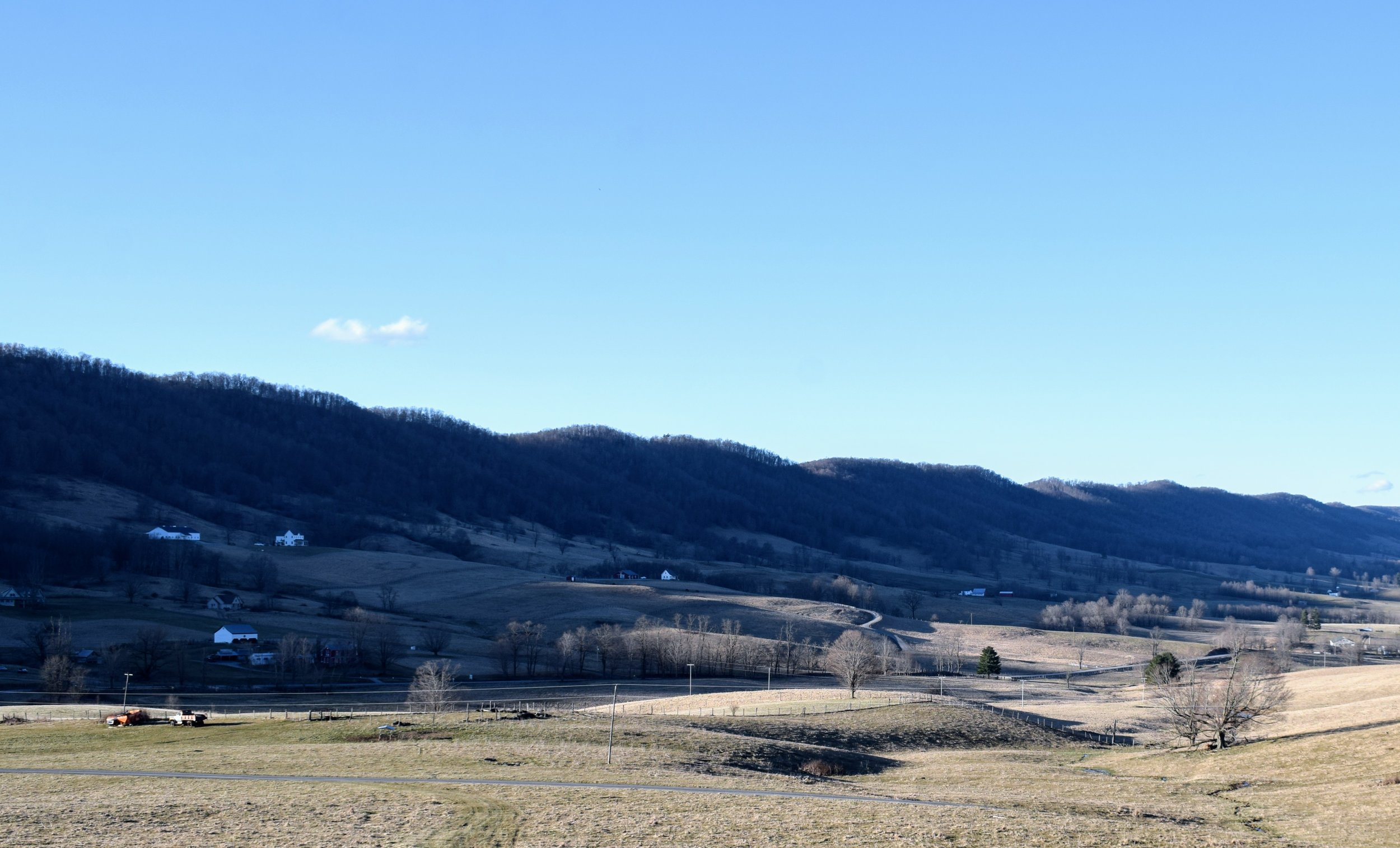 Even in the leaf-less days of early Spring, Highland County is beautiful.