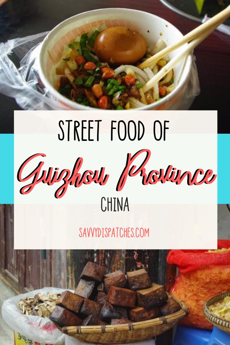 Street Food Guide to Guiyang & Guizhou Province // China Travel