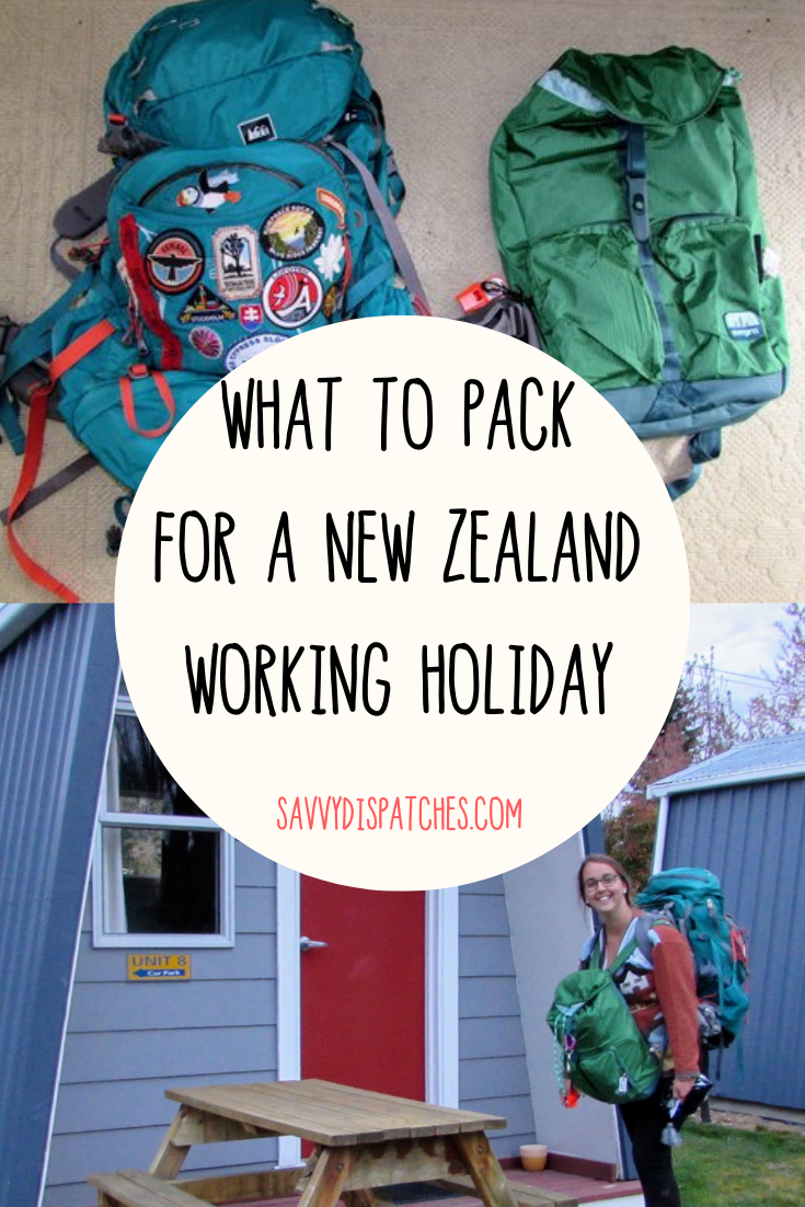 New Zealand Working Holiday Packing Guide /// New Zealand Travel // New Zealand WHV