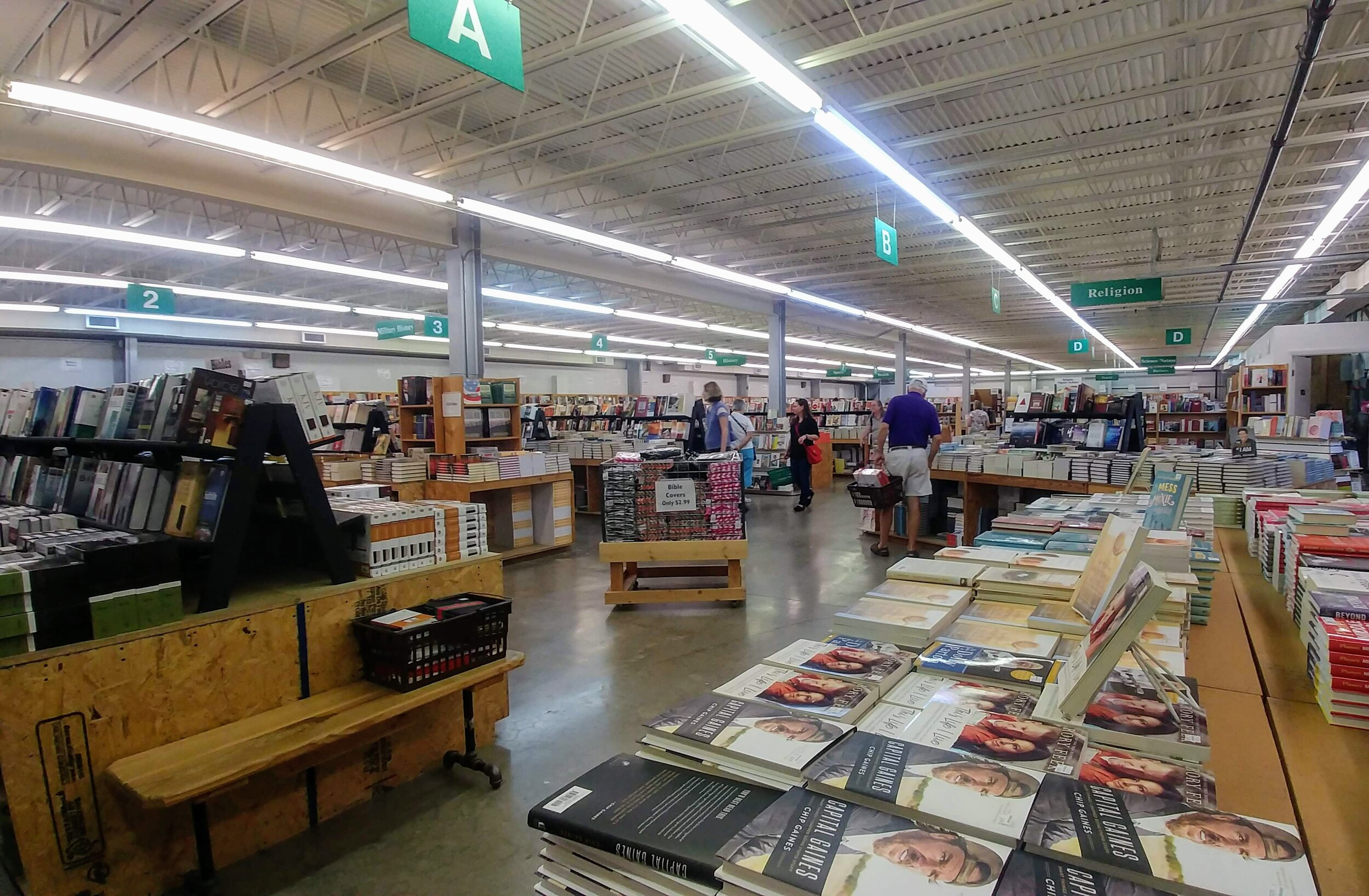Green Valley Book Fair is huge and has a little something from every genre.