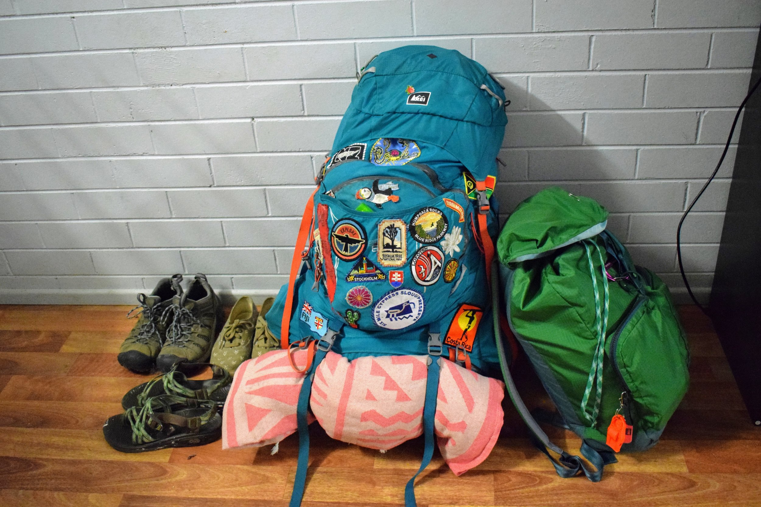 When you alternate between backpacking on a budget and working, it's easier to afford travel.