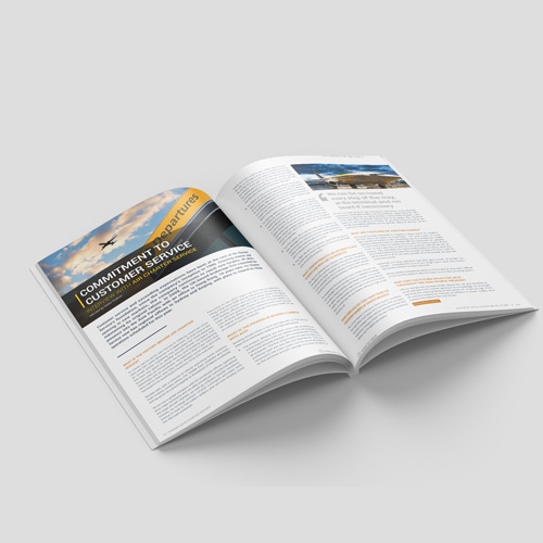SPONSORED EDITORIALS   Speak directly to the audience in a profile featuring insight and updates from your company.