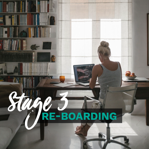 Supports effective re-boarding, productivity, review and planning.
