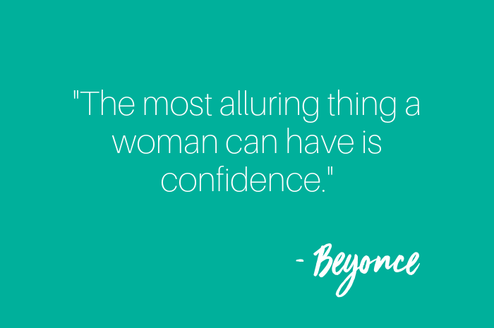 Beyonce 'The most alluring things a woman can have is confidence""