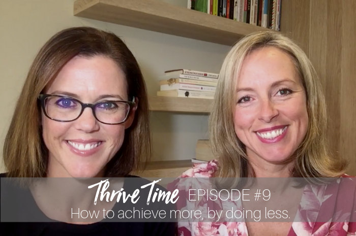 How to achieve more by doing less Ep 9 Blog.png