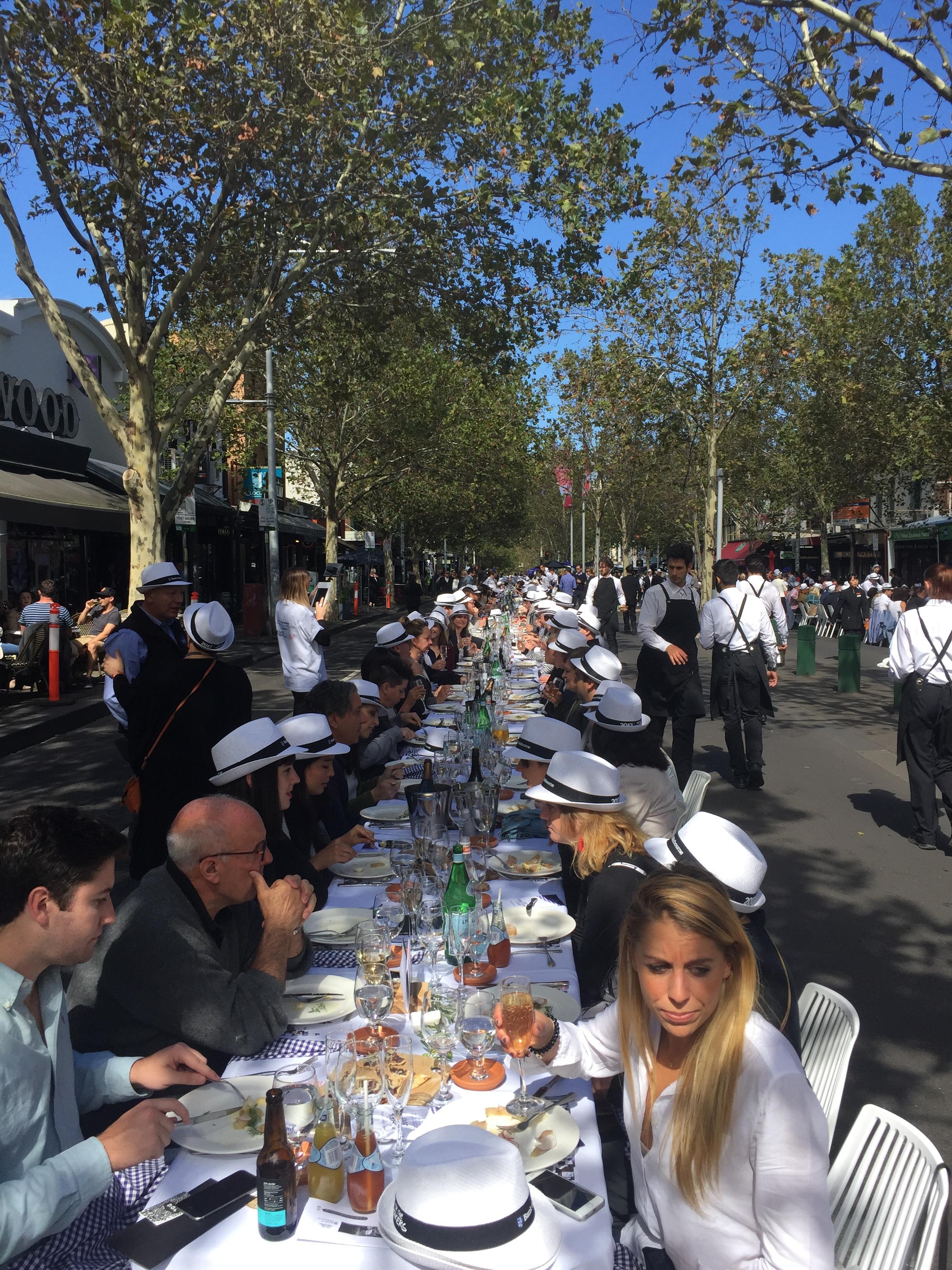 Melbourne Food and Wine Festival's 25th Anniversarymarshals