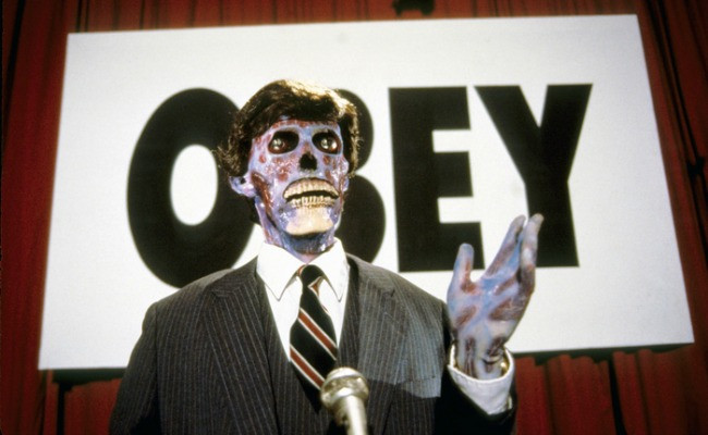 They Live (1988) Directed by John Carpenter