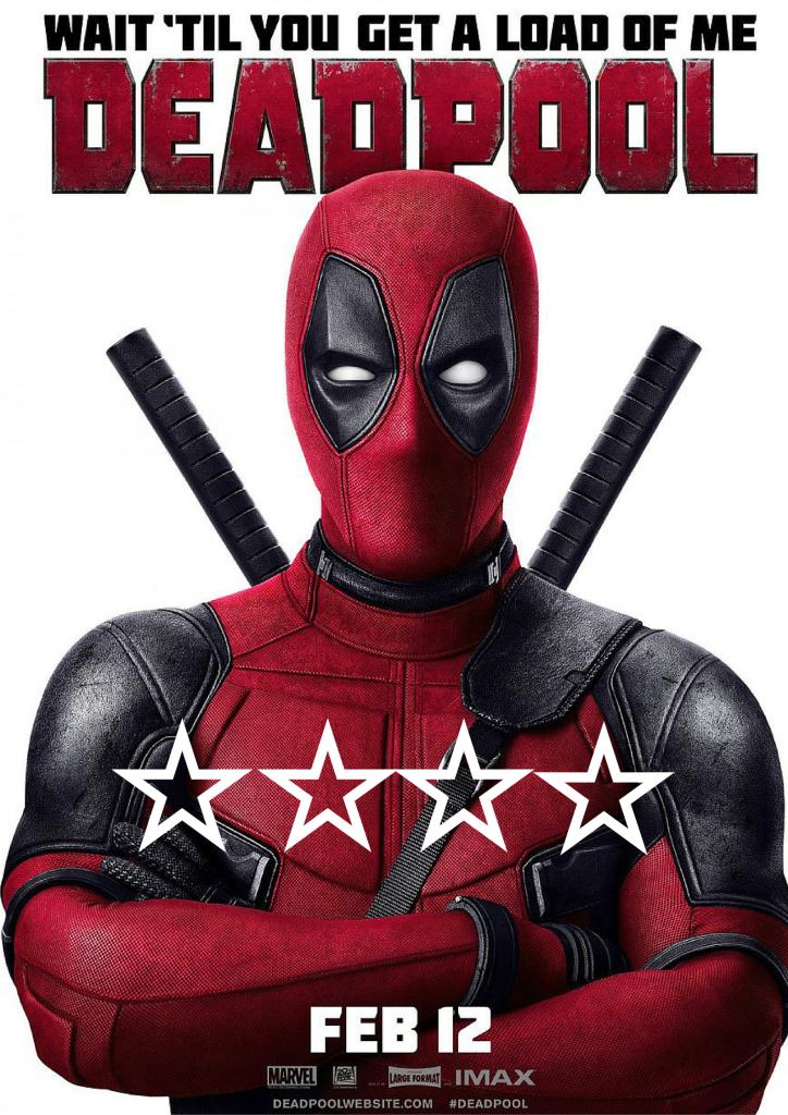 Star Poster- Deadpool