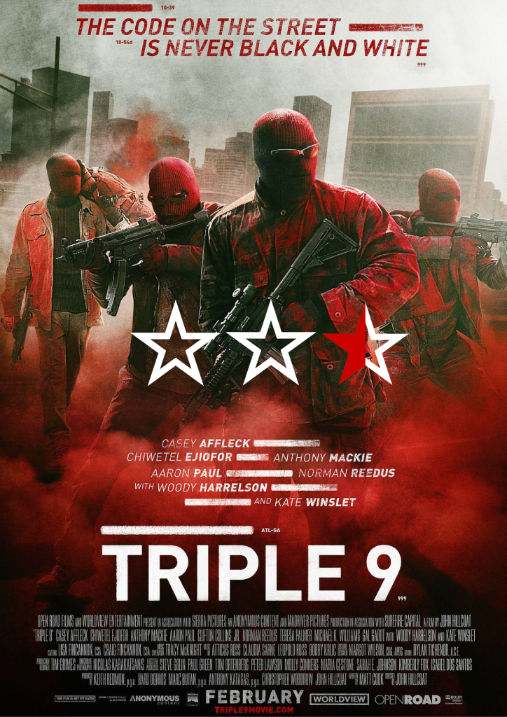 Star Poster- Triple 999