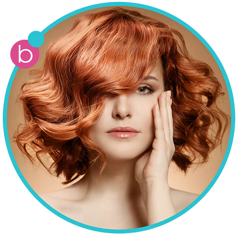 THE FLIRT - loose curls    Curls are the hallmark of this salon's   favorite look…from sassy ringlets to loose,  flowing curls – the Flirt guarantees all   eyes will remain on you.Get your Flirt   on with this sassy style.