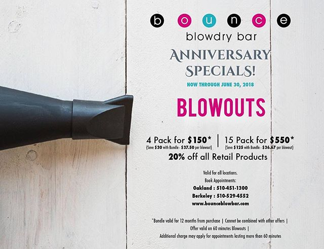 Hurry....Don't let these deals get away😍💕Come take advantage of our Anniversary Specials💕