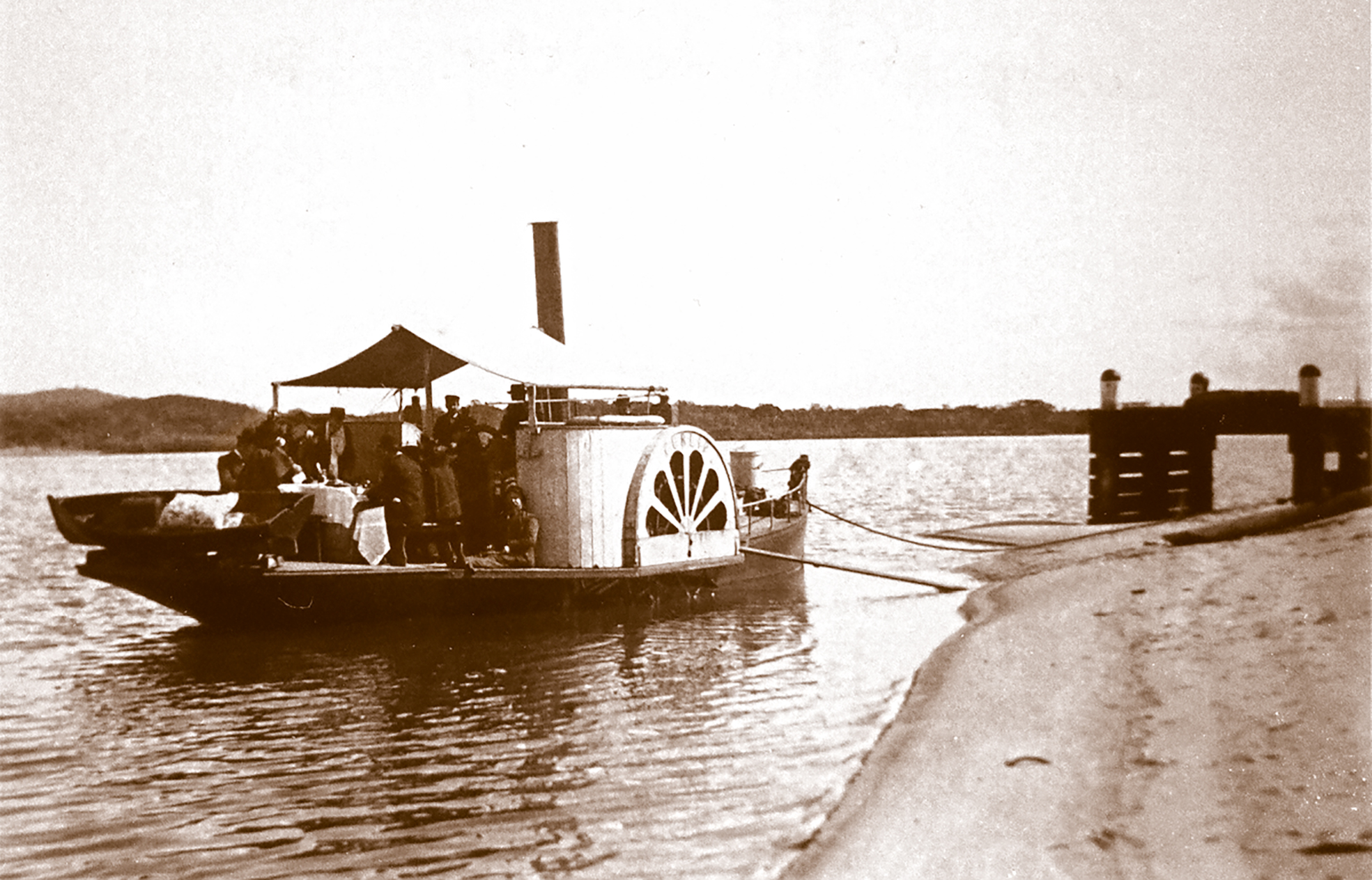Things were done with a sense of style back in the day... Paddle Steamer Curlip will be providing high afternoon tea aboard in 2017 when she returns to service along the Mitchell River.... some things should never change.