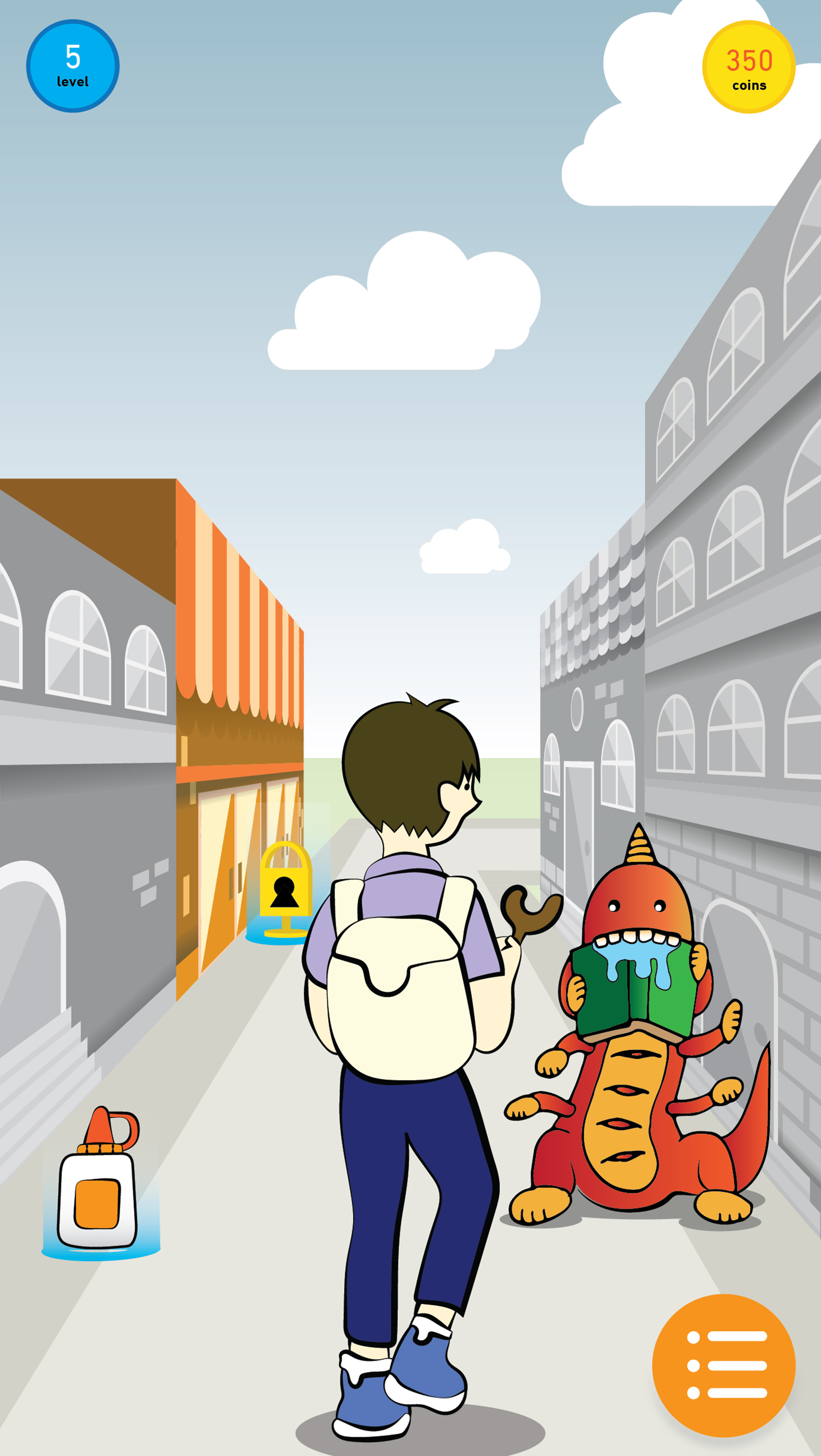 AR World Exploration - Good Aim is an augmented reality game where players explore their community collecting items to defeat monsters. Monsters are located all over, and represent specific charity needs—such as education or environment.