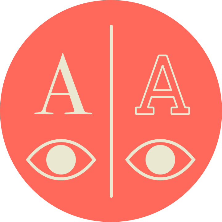 4. Parallax - For people with better control over the parallax of eyeballs, cross-eyed superimposition is possible.