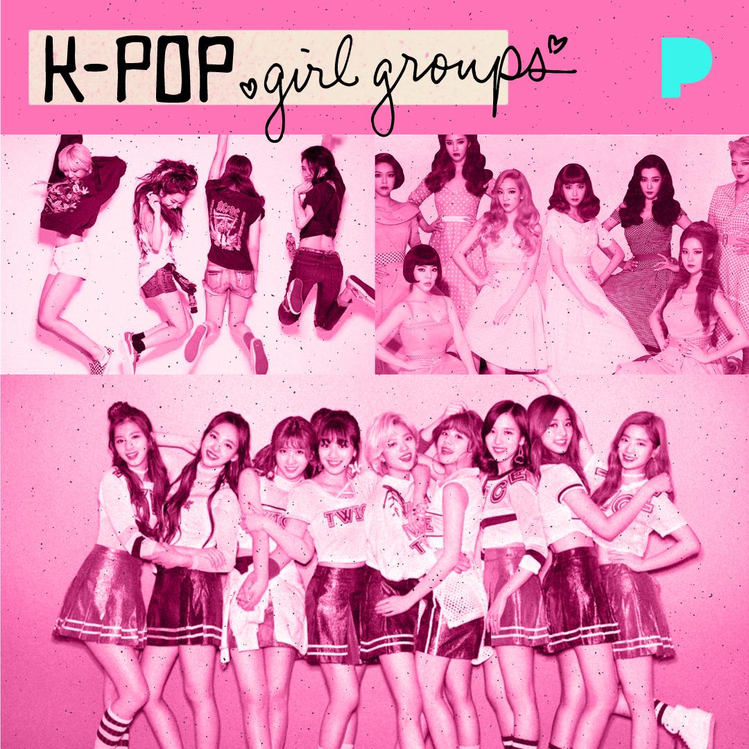 K-Pop Girl Groups