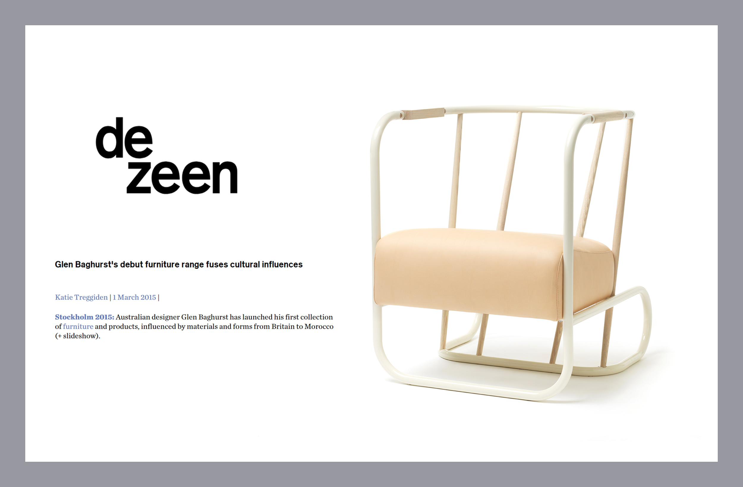 Dezeen Stockholm Furniture Fair 2015