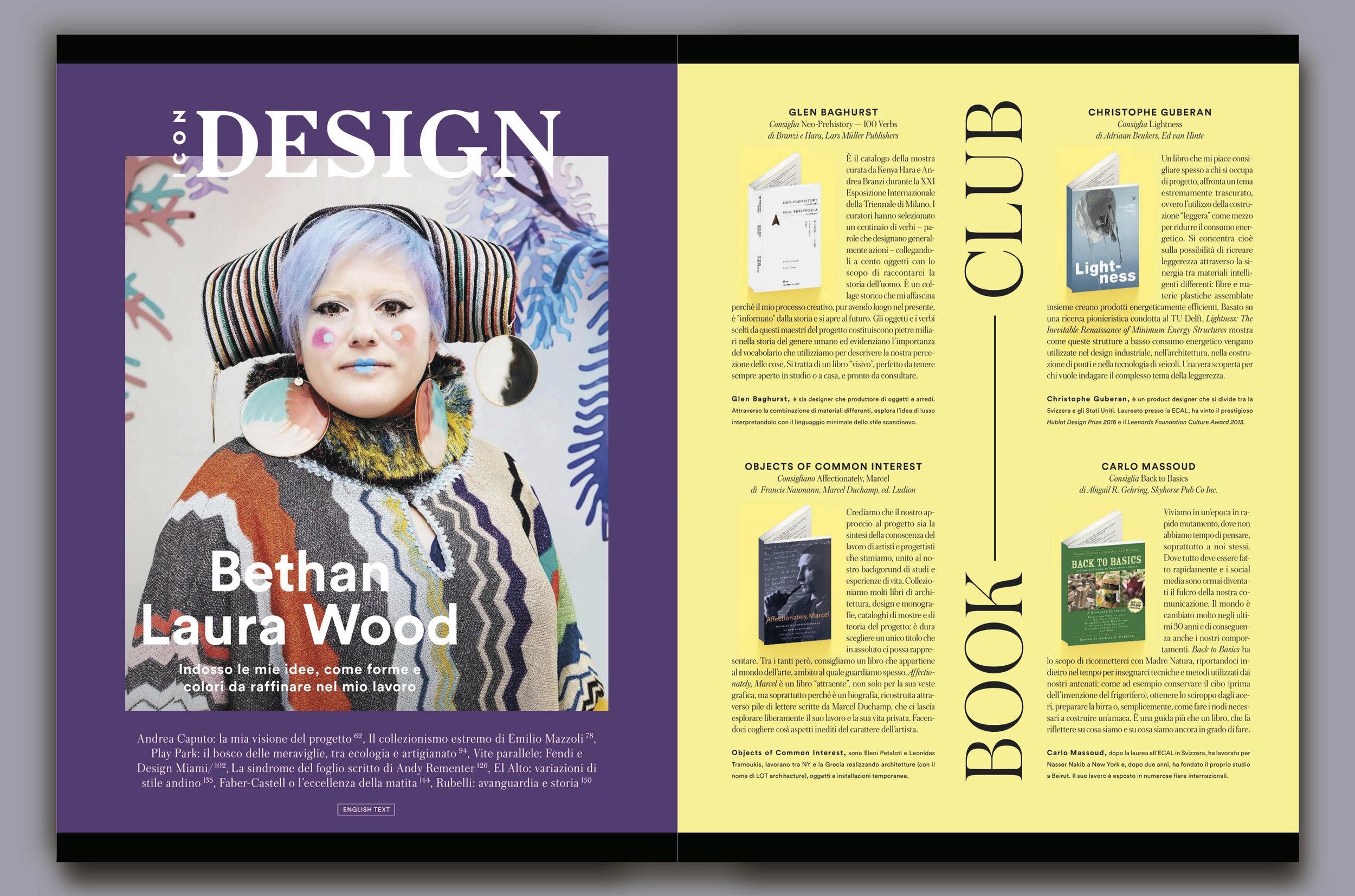 ICON Design, Book Club