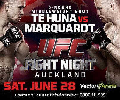UFC at Vector Arena Auckland