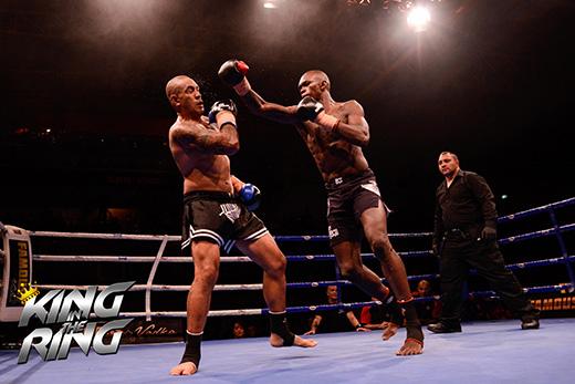 Israel Adesanya king in the ring champ