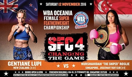 Another New Zealander goes for WBA Oceania Title
