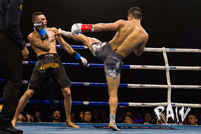 NZ Kickboxing Fight: Hen Wenbao beat Harley Love by unanimous decision