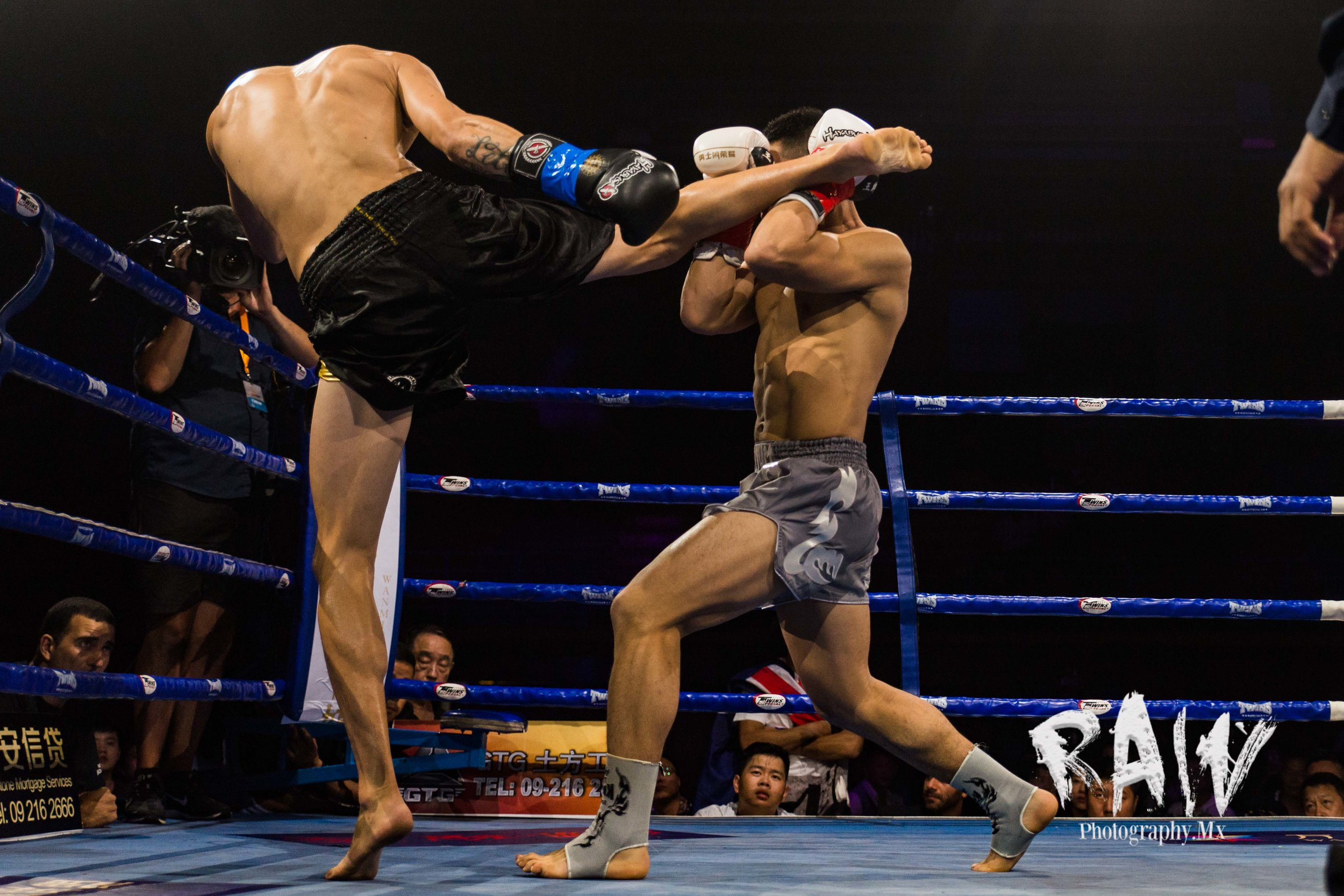 Fight Photography - New Zealand Fighter