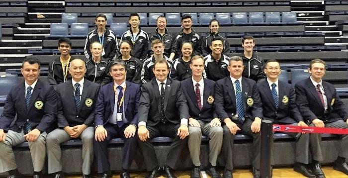 NZ Karate Team at Oceania Karate Championships