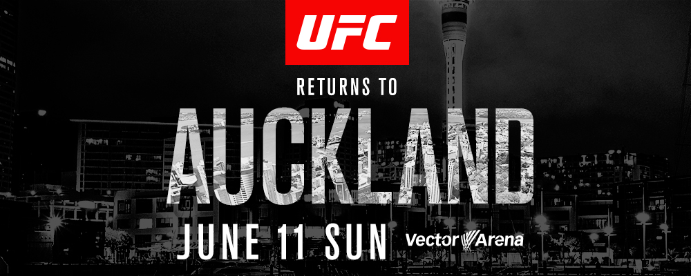 UFC Auckland jUNE 2017