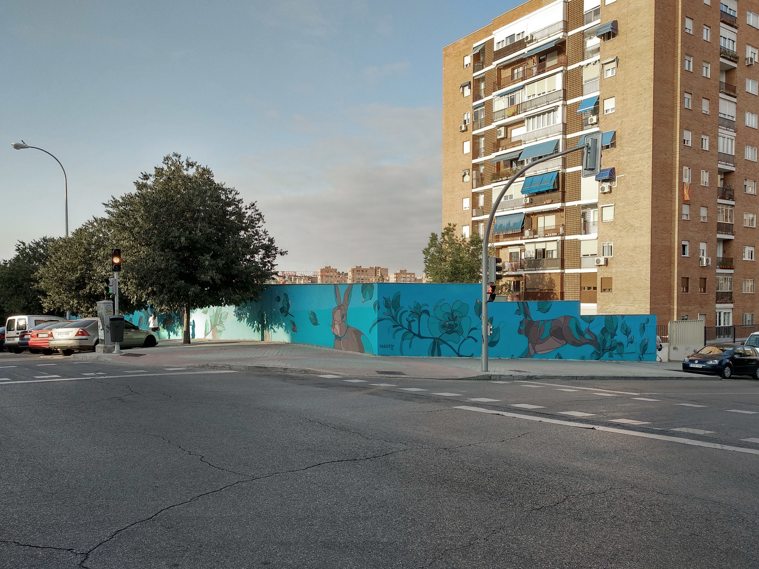 Compartiendo Muros, Madrid, Spain 2018.